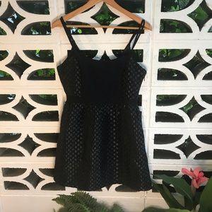 Tulle Black Mini Party Dress